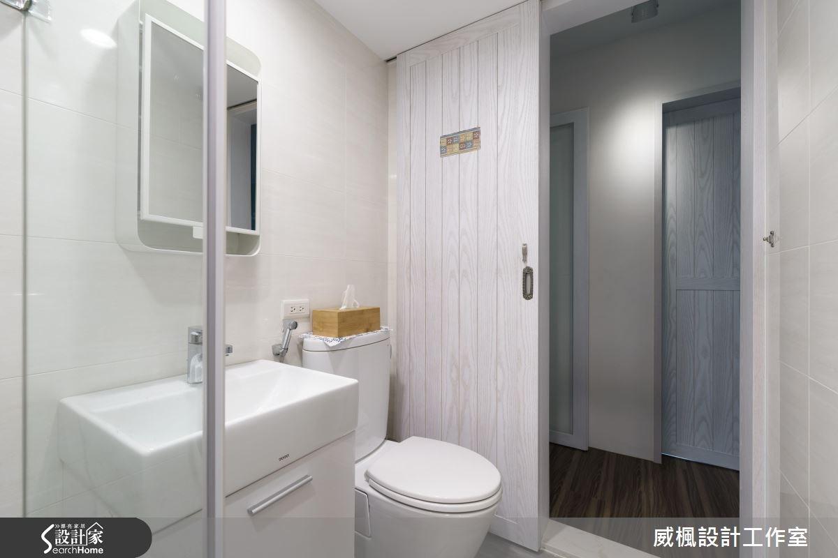 25坪老屋(16~30年)_北歐風浴室案例圖片_威楓設計工作室_威楓_09之19