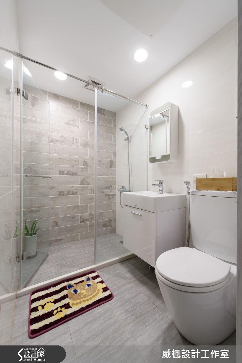 25坪老屋(16~30年)_北歐風浴室案例圖片_威楓設計工作室_威楓_09之20