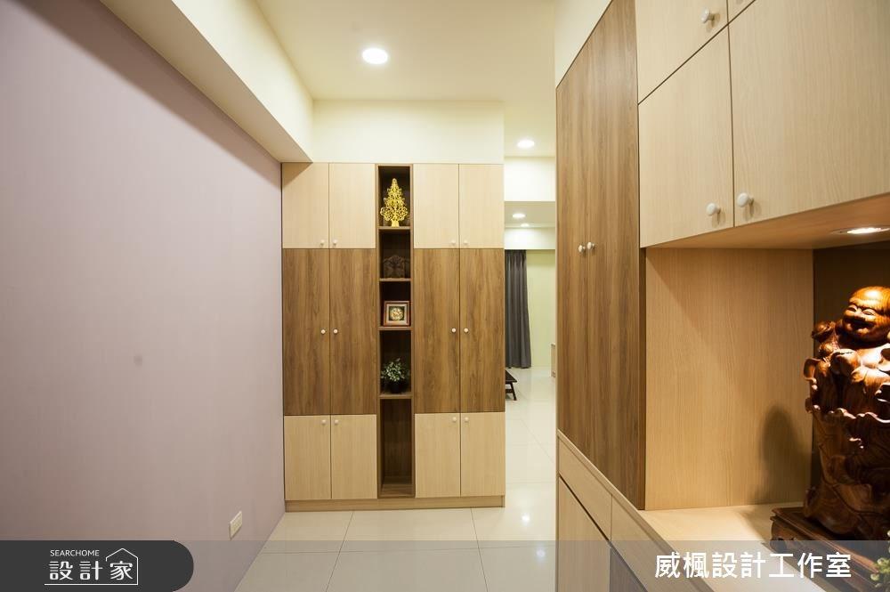 25坪新成屋(5年以下)_現代風玄關案例圖片_威楓設計工作室_威楓_13之4