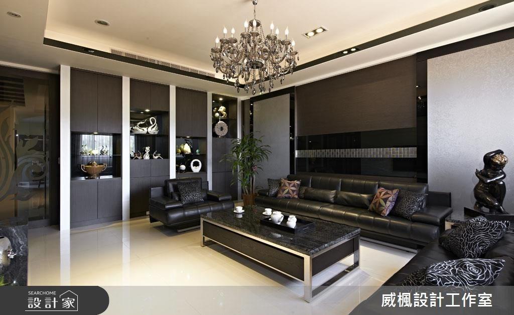 120坪_奢華風客廳案例圖片_威楓設計工作室_威楓_14之2