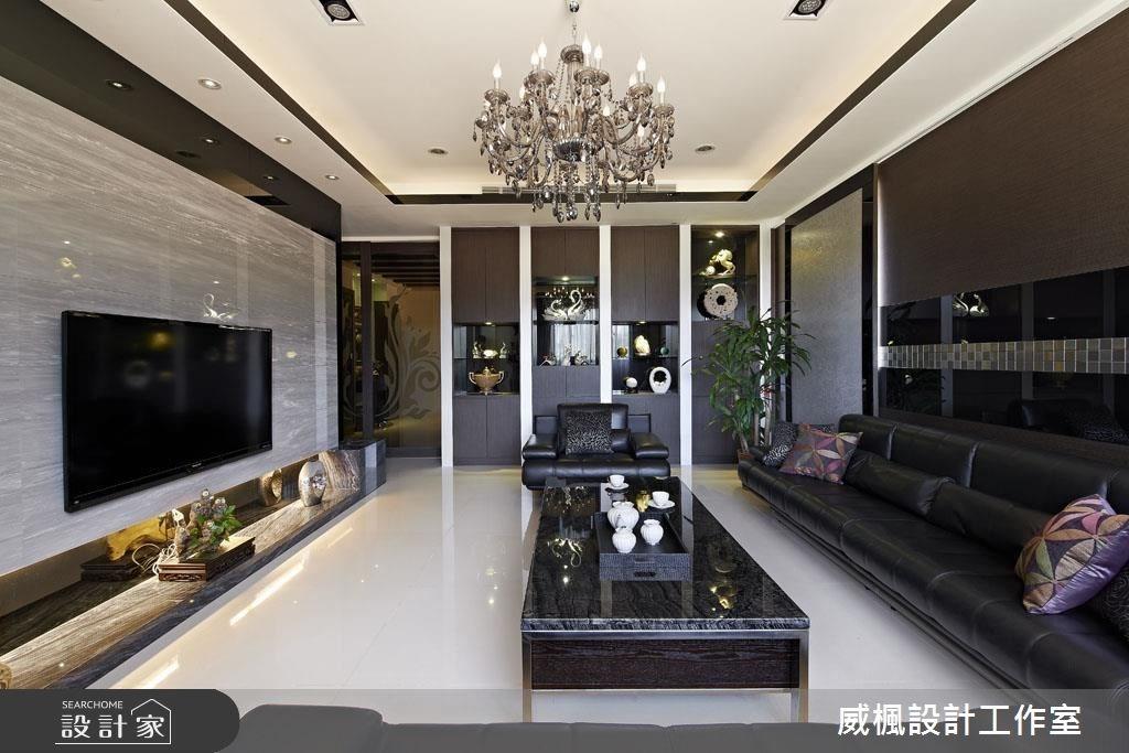 120坪_奢華風客廳案例圖片_威楓設計工作室_威楓_14之3