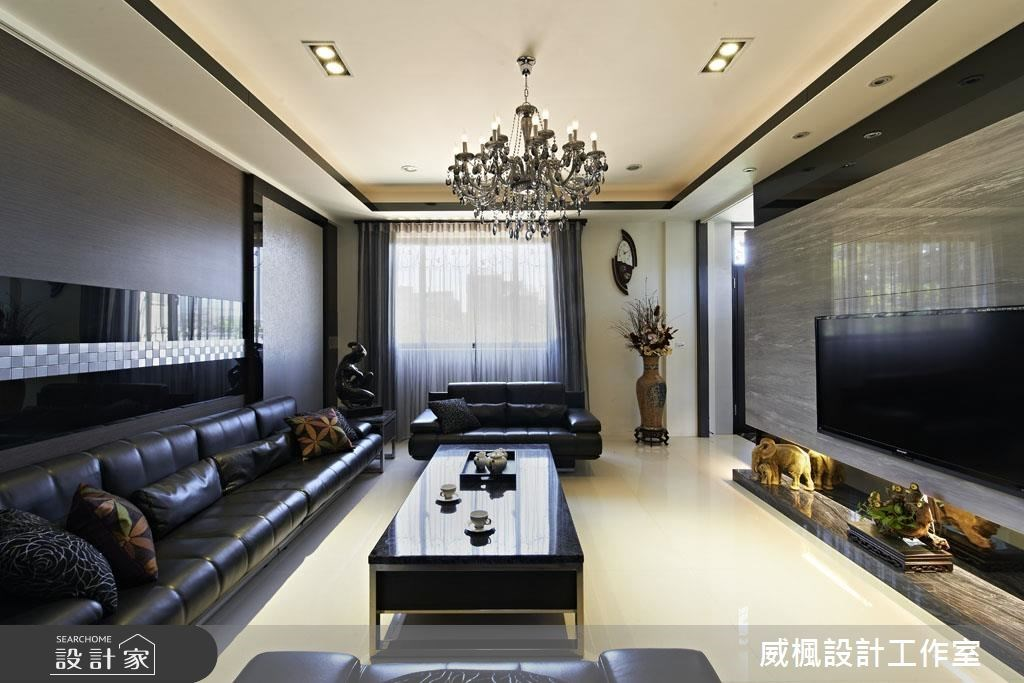 120坪_奢華風客廳案例圖片_威楓設計工作室_威楓_14之4