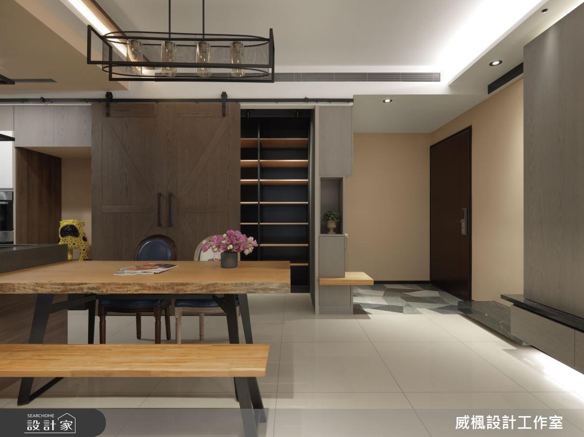40坪新成屋(5年以下)_工業風餐廳案例圖片_威楓設計工作室_威楓_17之2