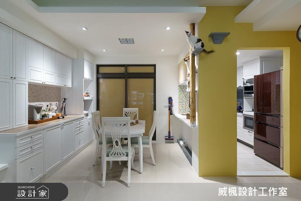 30坪中古屋(5~15年)_鄉村風餐廳案例圖片_威楓設計工作室_威楓_19之4