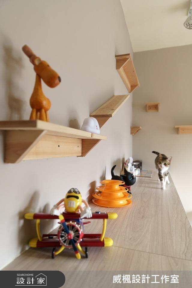 25坪中古屋(5~15年)_北歐風寵物案例圖片_威楓設計工作室_威楓_20之6