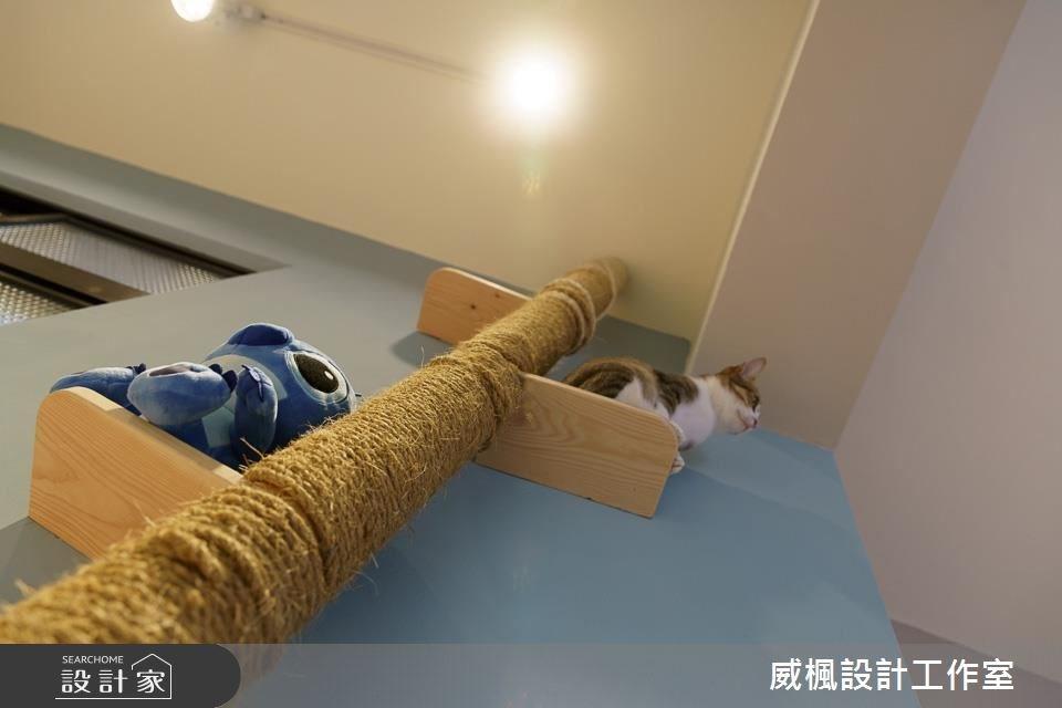 25坪中古屋(5~15年)_北歐風寵物案例圖片_威楓設計工作室_威楓_20之9