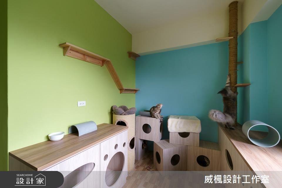 25坪中古屋(5~15年)_北歐風寵物案例圖片_威楓設計工作室_威楓_20之11