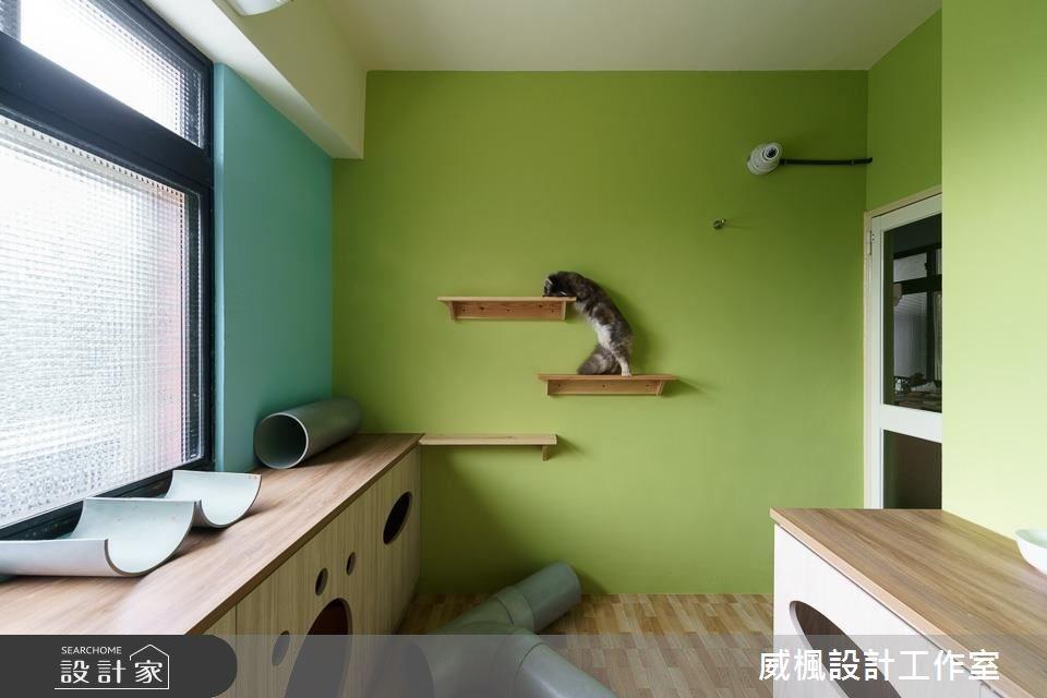 25坪中古屋(5~15年)_北歐風寵物案例圖片_威楓設計工作室_威楓_20之12
