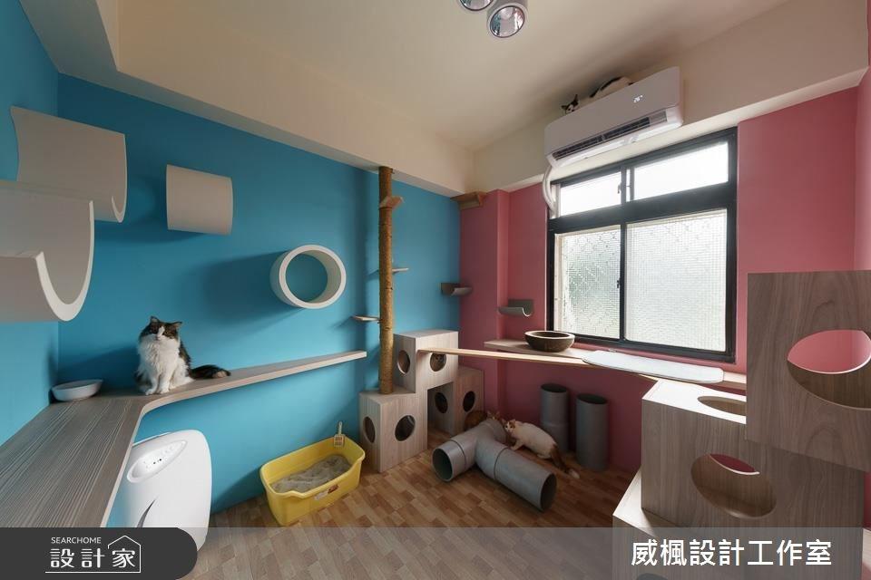 25坪中古屋(5~15年)_北歐風寵物案例圖片_威楓設計工作室_威楓_20之16