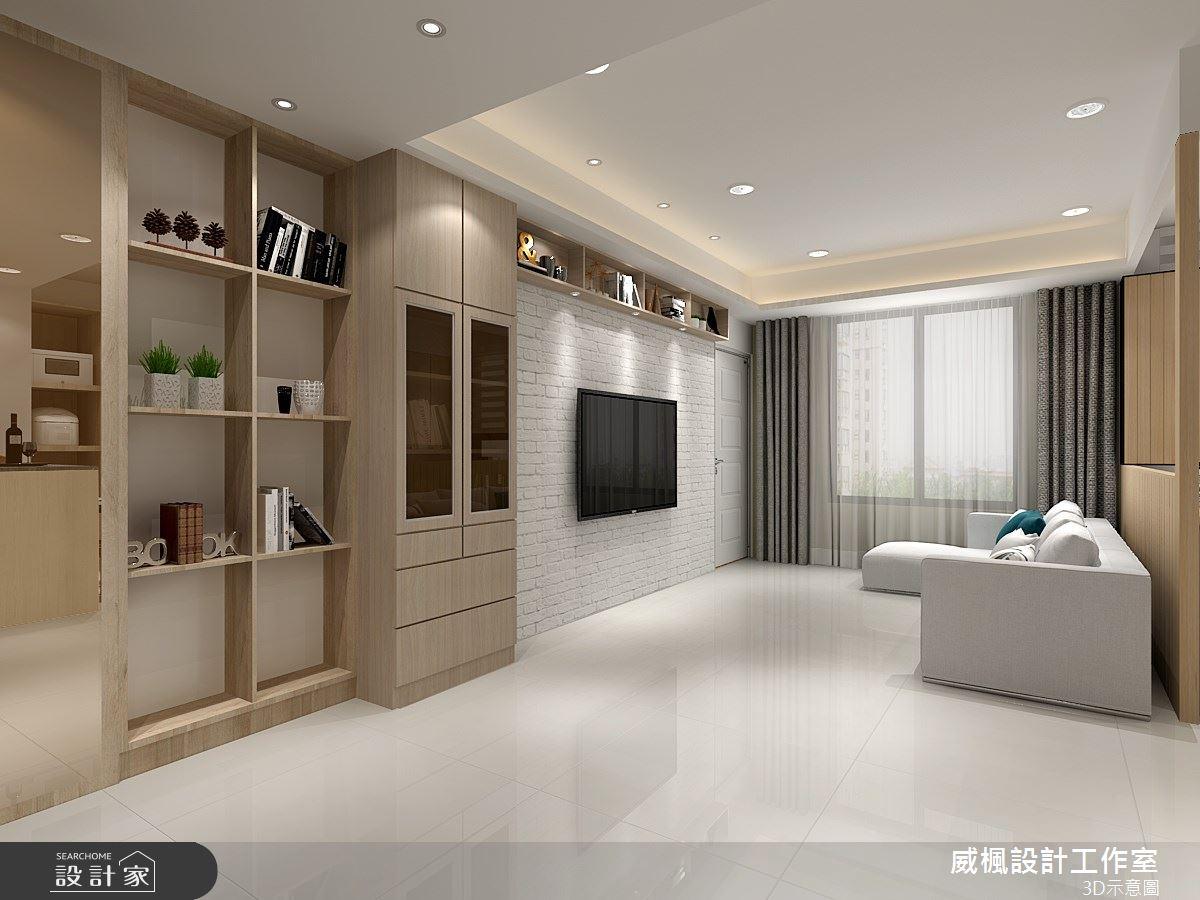 16坪新成屋(5年以下)_混搭風案例圖片_威楓設計工作室_威楓_23之2