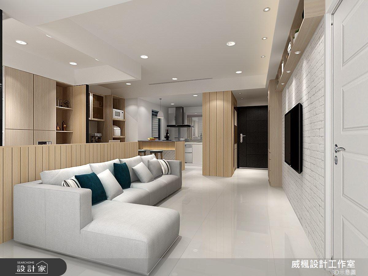 16坪新成屋(5年以下)_混搭風案例圖片_威楓設計工作室_威楓_23之3