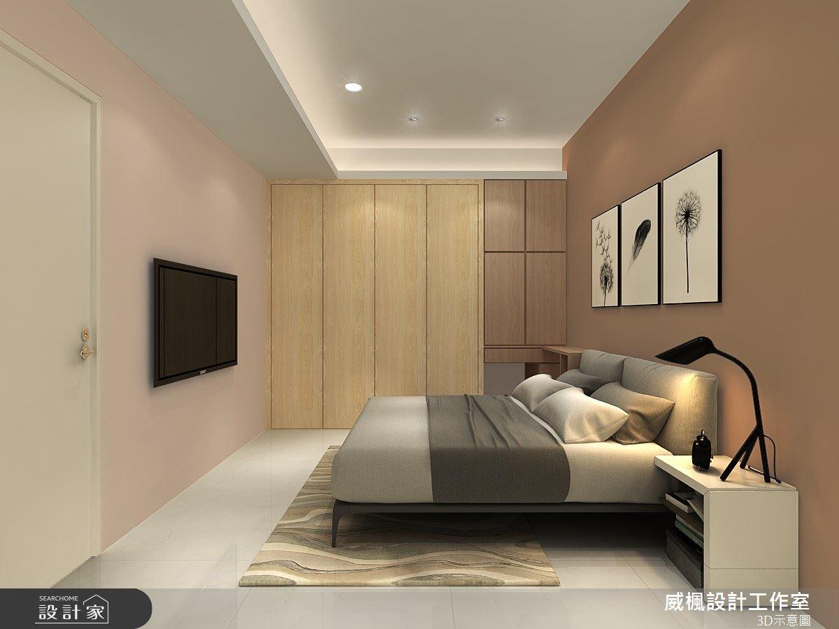 16坪新成屋(5年以下)_混搭風臥室案例圖片_威楓設計工作室_威楓_23之4