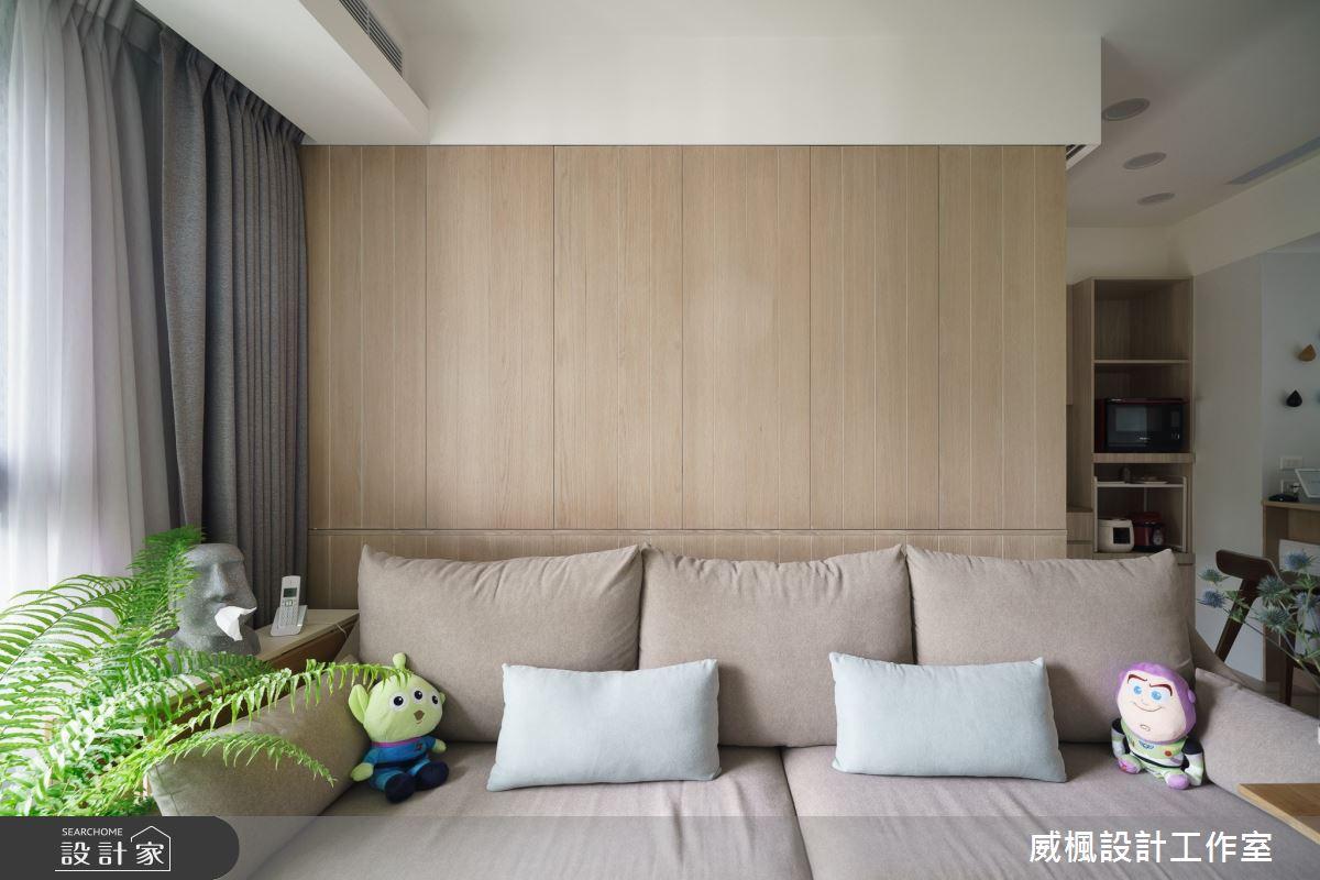 16坪預售屋_日式無印風客廳案例圖片_威楓設計工作室_威楓_28之5