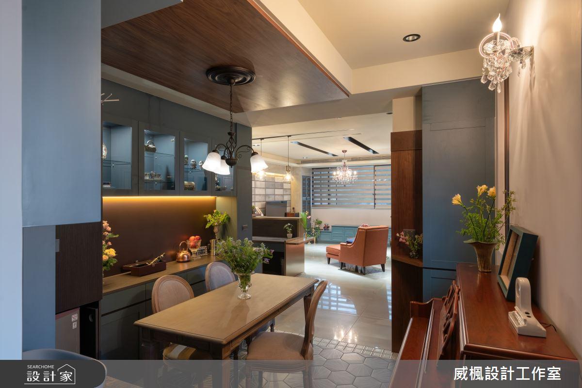 40坪預售屋_英式復古案例圖片_威楓設計工作室_威楓_30之2
