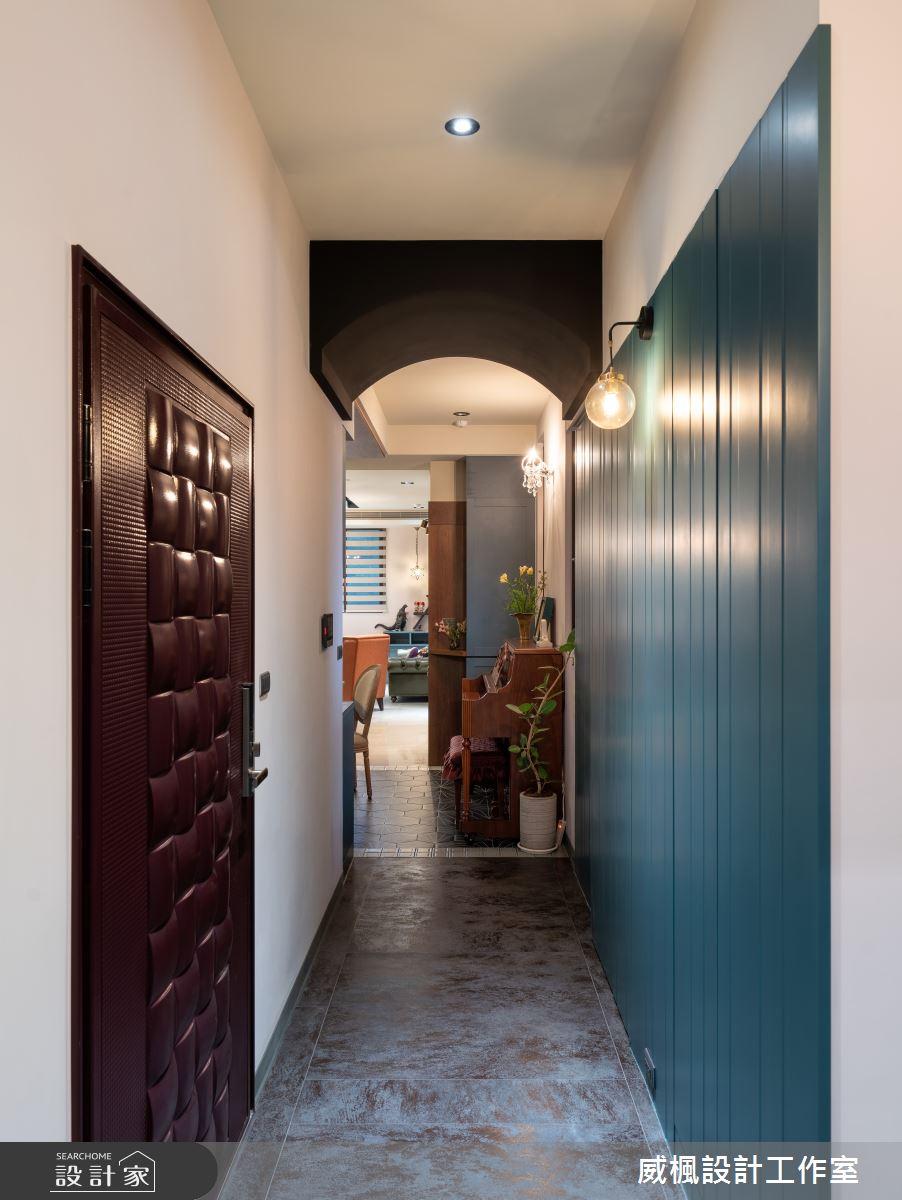 40坪預售屋_英式復古案例圖片_威楓設計工作室_威楓_30之1
