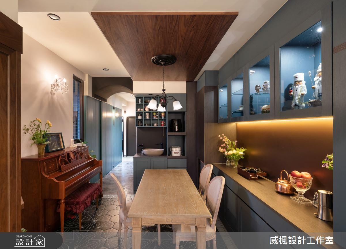 40坪預售屋_英式復古案例圖片_威楓設計工作室_威楓_30之3