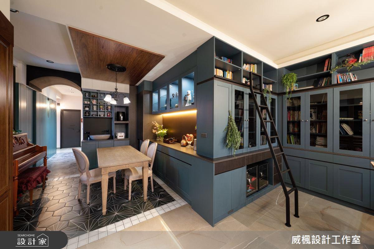 40坪預售屋_英式復古案例圖片_威楓設計工作室_威楓_30之5