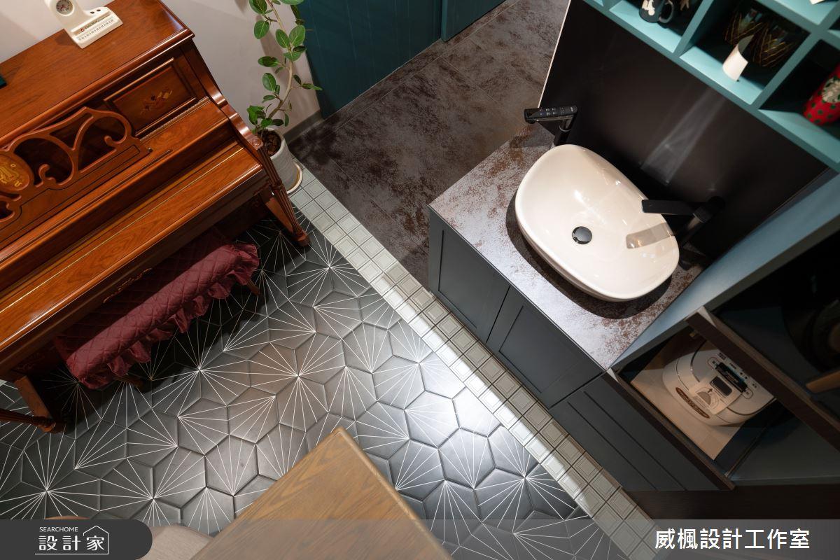 40坪預售屋_英式復古案例圖片_威楓設計工作室_威楓_30之4