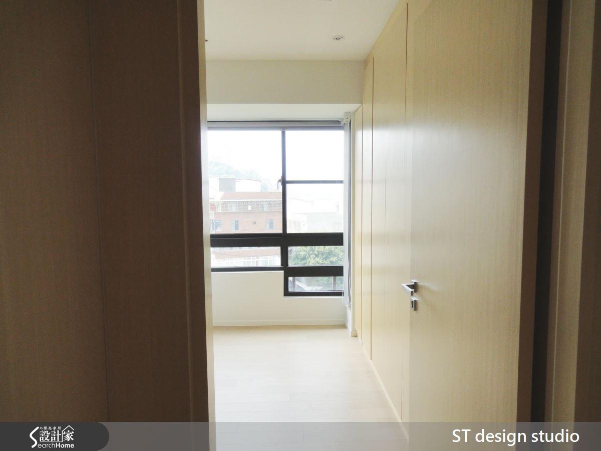 25坪新成屋(5年以下)_簡約風臥室案例圖片_ST design studio_ST_03之5