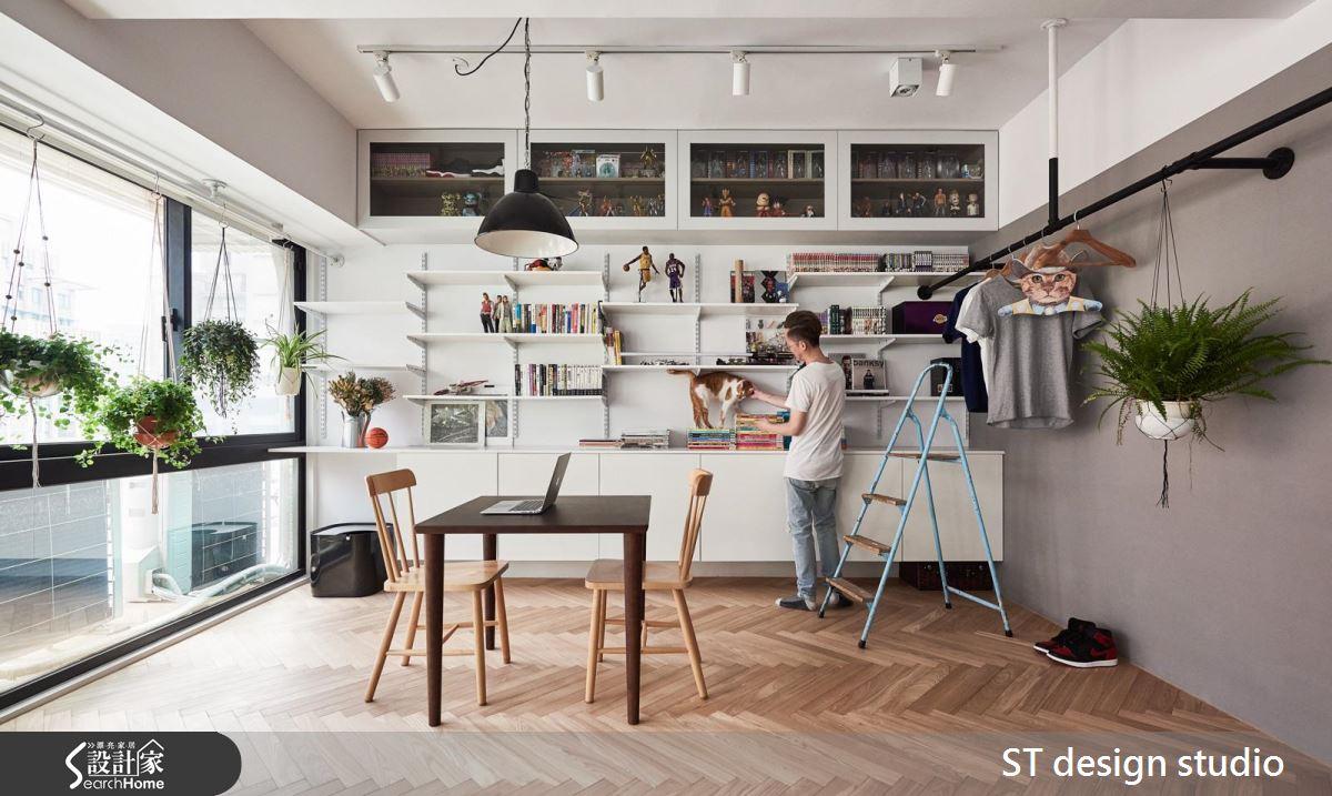 百萬打造 12 坪都市綠洲  連 CNN 都報導的超唯美 mini loft 小宅!