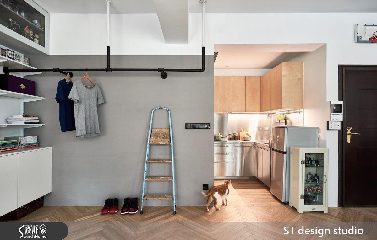 12坪中古屋(5~15年)_休閒風廚房寵物案例圖片_ST design studio_ST_04之2
