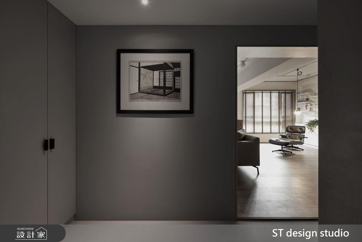 40坪新成屋(5年以下)_現代風玄關案例圖片_ST design studio_ST_06之1
