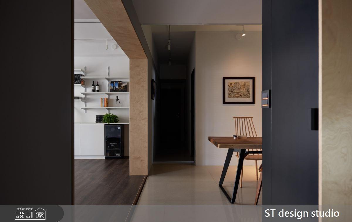 40坪新成屋(5年以下)_現代風餐廳案例圖片_ST design studio_ST_06之4