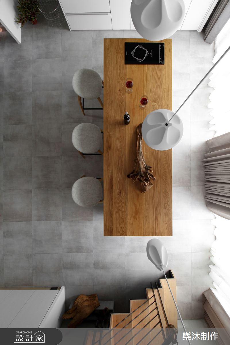 17坪新成屋(5年以下)_北歐風案例圖片_樂沐制作空間設計_樂沐_02之5