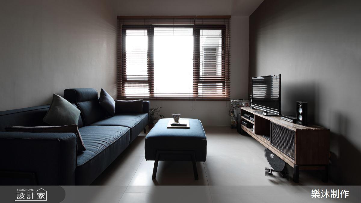 20坪新成屋(5年以下)_工業風案例圖片_樂沐制作空間設計_樂沐_03之1