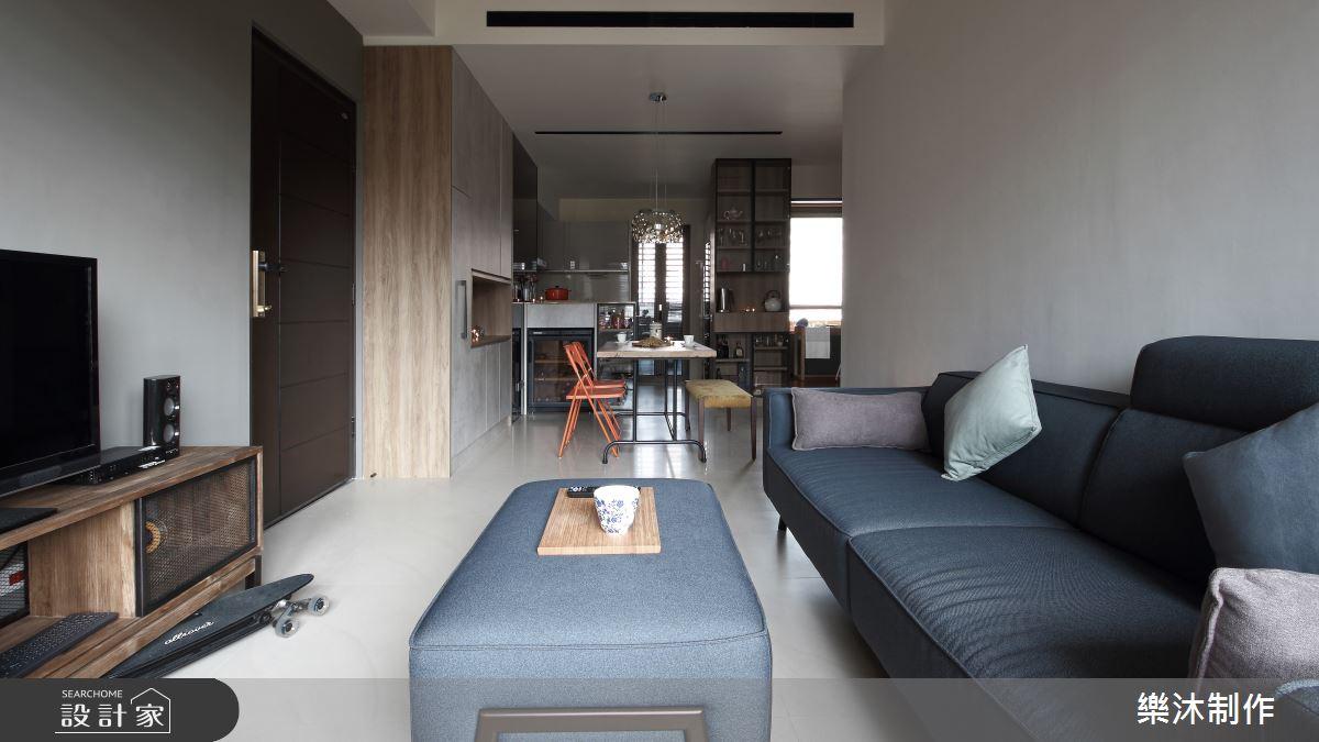 20坪新成屋(5年以下)_工業風案例圖片_樂沐制作空間設計_樂沐_03之3