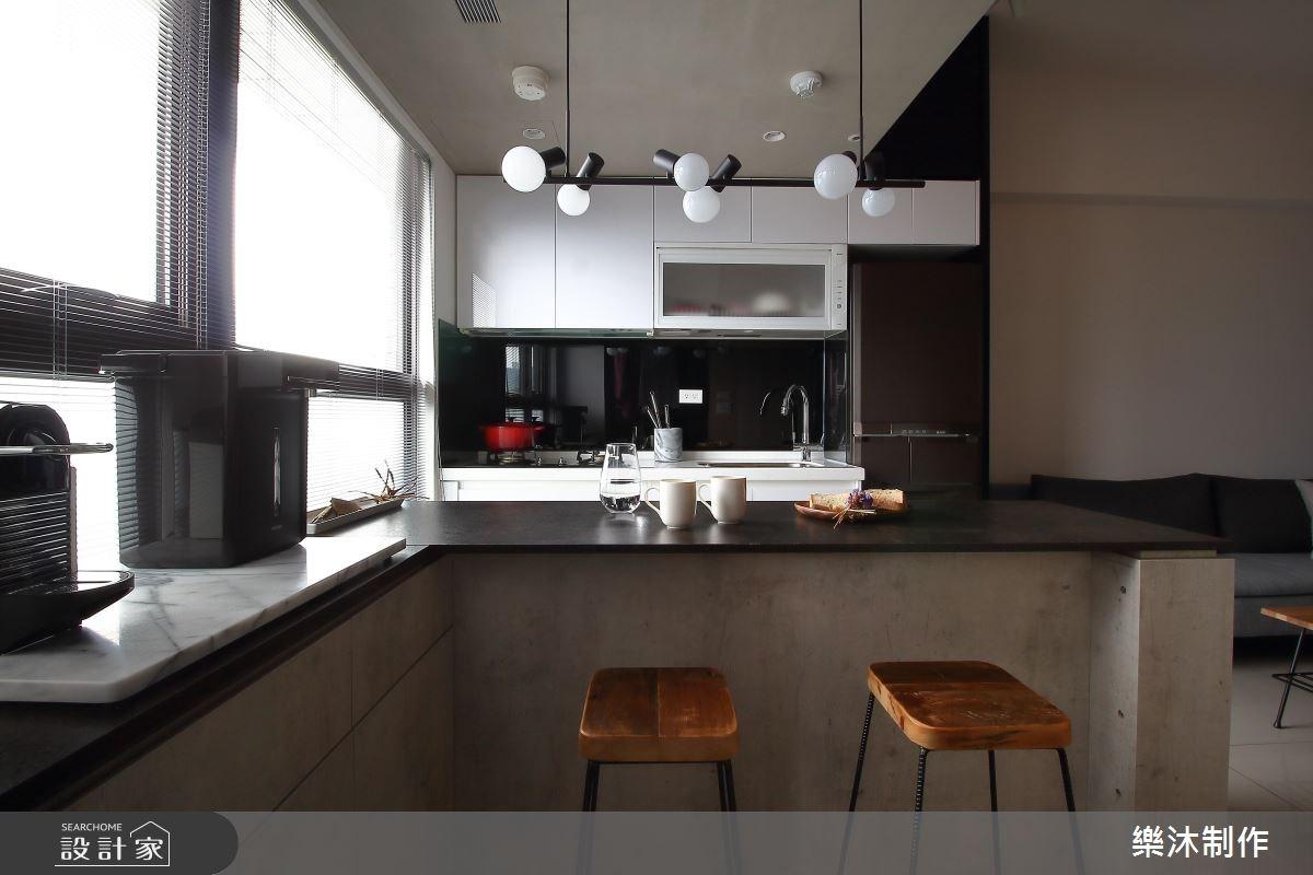 15坪新成屋(5年以下)_現代風餐廳案例圖片_樂沐制作空間設計_樂沐_05之6