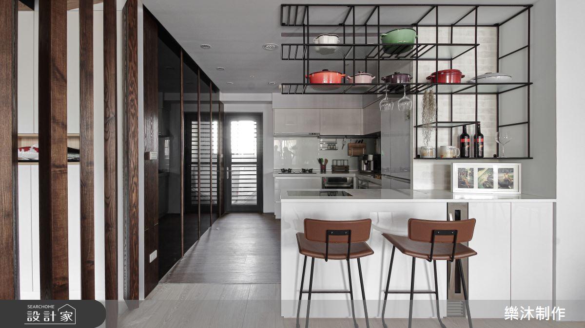 35坪新成屋(5年以下)_北歐風案例圖片_樂沐制作空間設計_樂沐_06之3