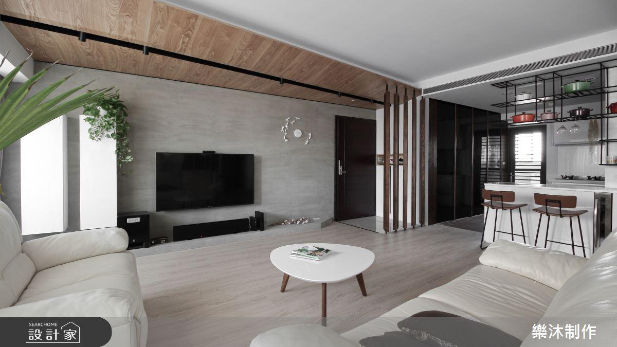 35坪新成屋(5年以下)_北歐風案例圖片_樂沐制作空間設計_樂沐_06之2