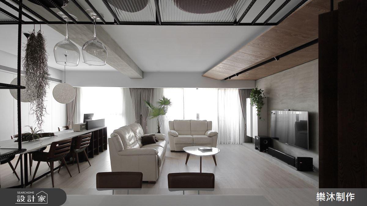 35坪新成屋(5年以下)_北歐風案例圖片_樂沐制作空間設計_樂沐_06之4