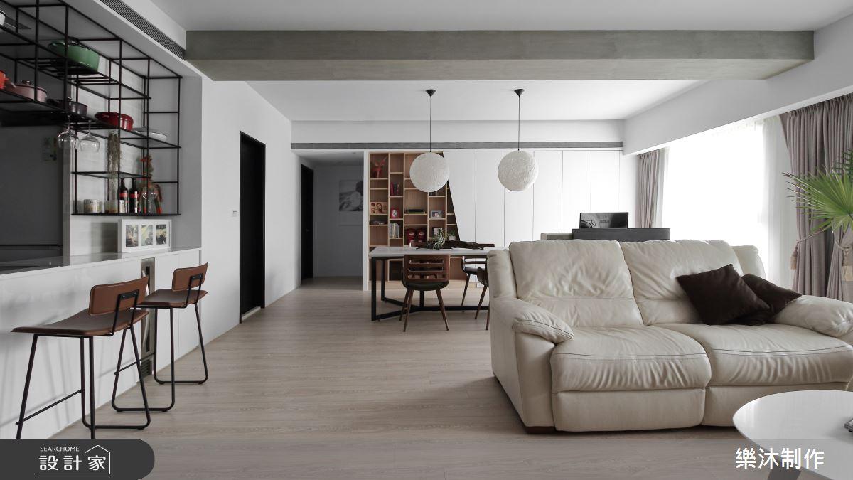 35坪新成屋(5年以下)_北歐風案例圖片_樂沐制作空間設計_樂沐_06之1