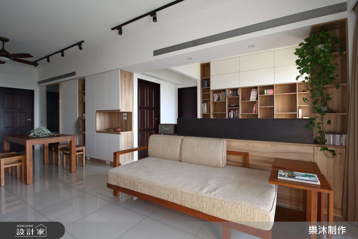 30坪新成屋(5年以下)_北歐風客廳案例圖片_樂沐制作空間設計_樂沐_07之3