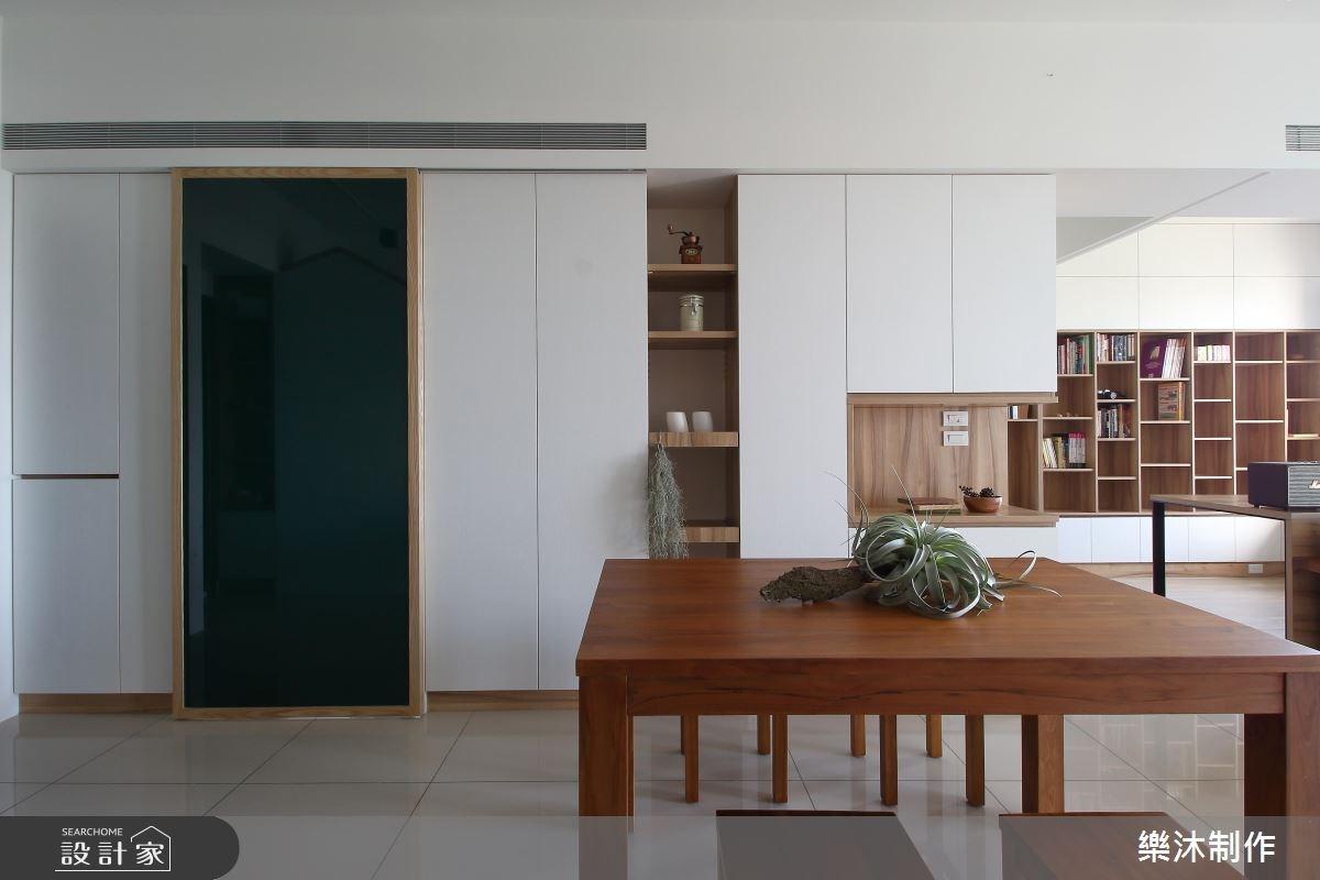 30坪新成屋(5年以下)_北歐風餐廳案例圖片_樂沐制作空間設計_樂沐_07之4