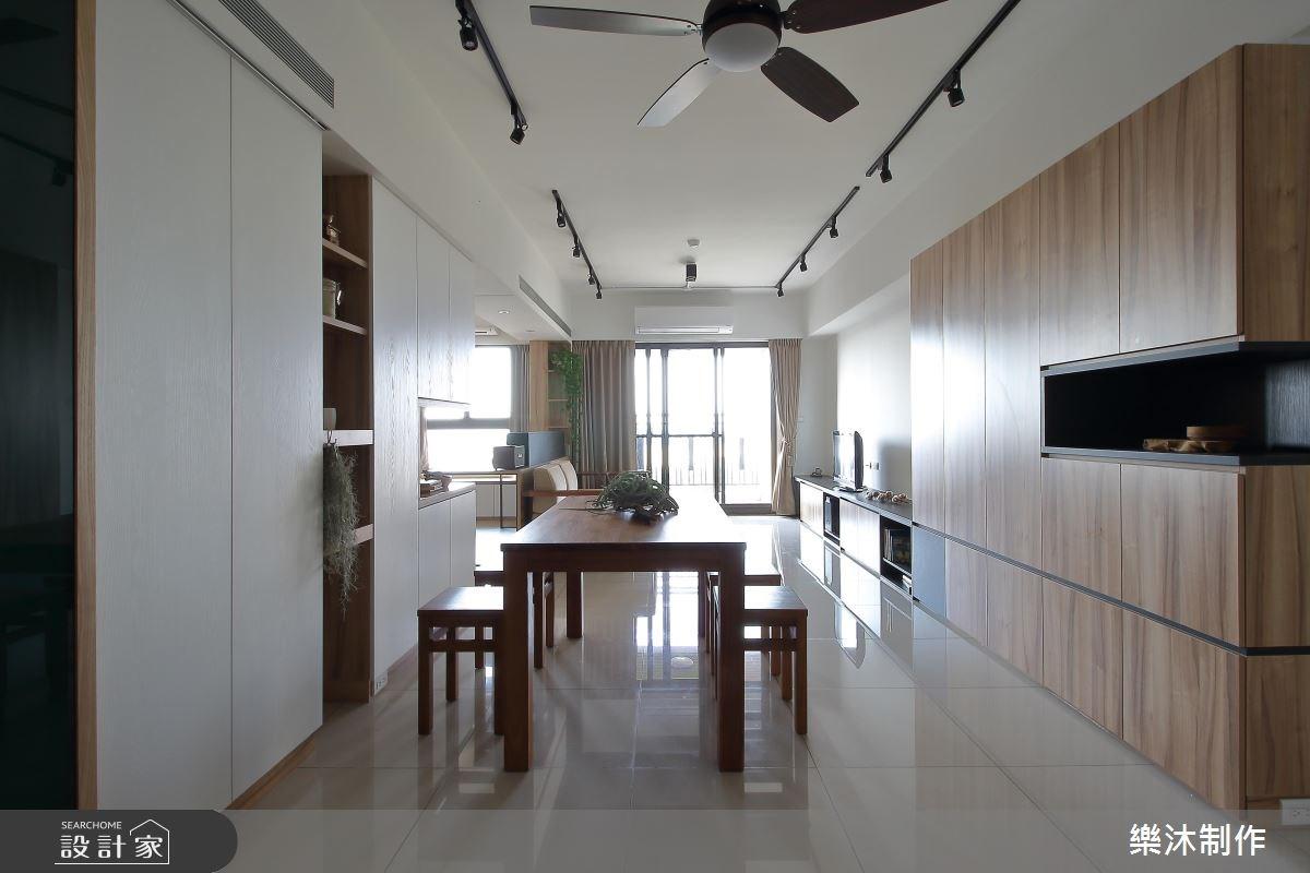 30坪新成屋(5年以下)_北歐風餐廳案例圖片_樂沐制作空間設計_樂沐_07之5