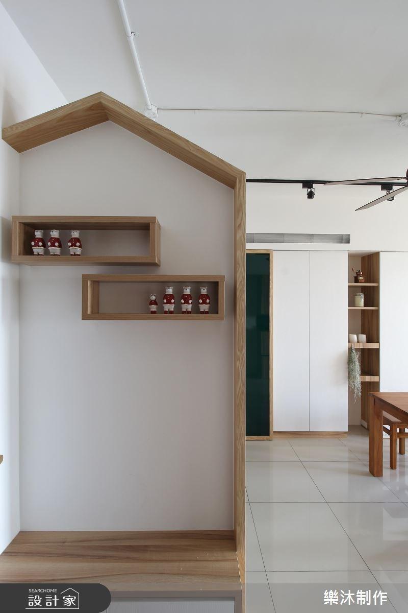 30坪新成屋(5年以下)_北歐風案例圖片_樂沐制作空間設計_樂沐_07之6