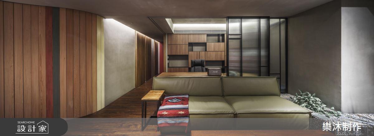 35坪新成屋(5年以下)_北歐風客廳案例圖片_樂沐制作空間設計_樂沐_08之3