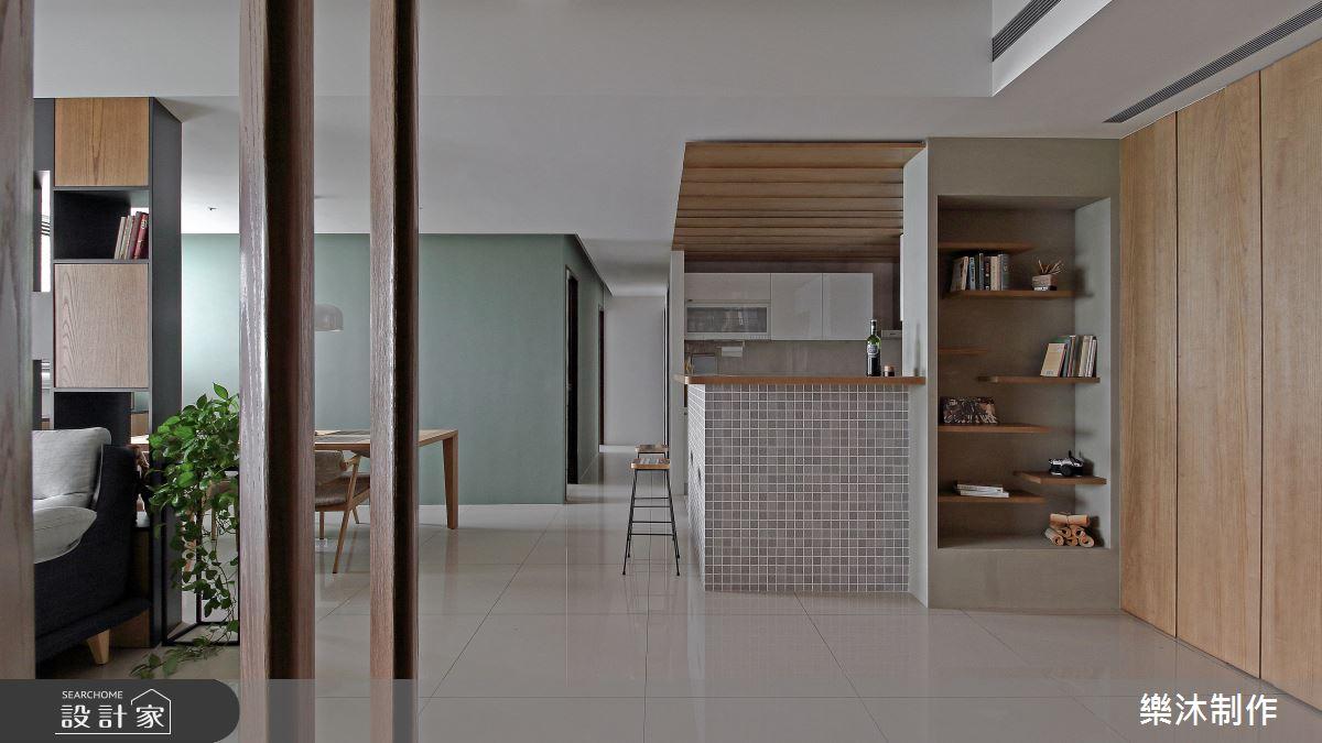 35坪新成屋(5年以下)_北歐風案例圖片_樂沐制作空間設計_樂沐_09之1
