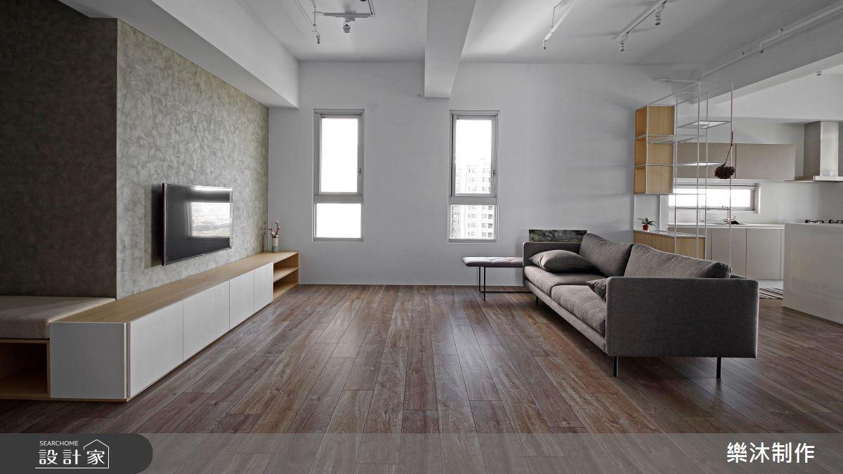 35坪新成屋(5年以下)_北歐風案例圖片_樂沐制作空間設計_樂沐_10之1