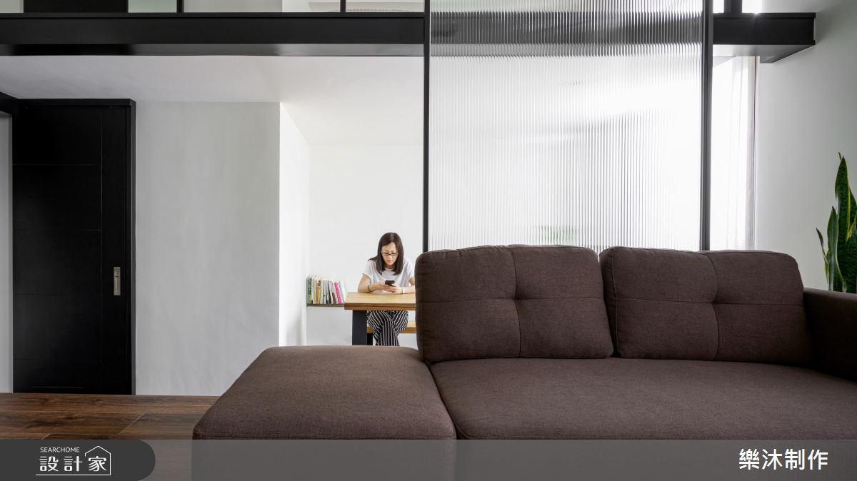 13坪新成屋(5年以下)_混搭風案例圖片_樂沐制作空間設計_樂沐_13之1
