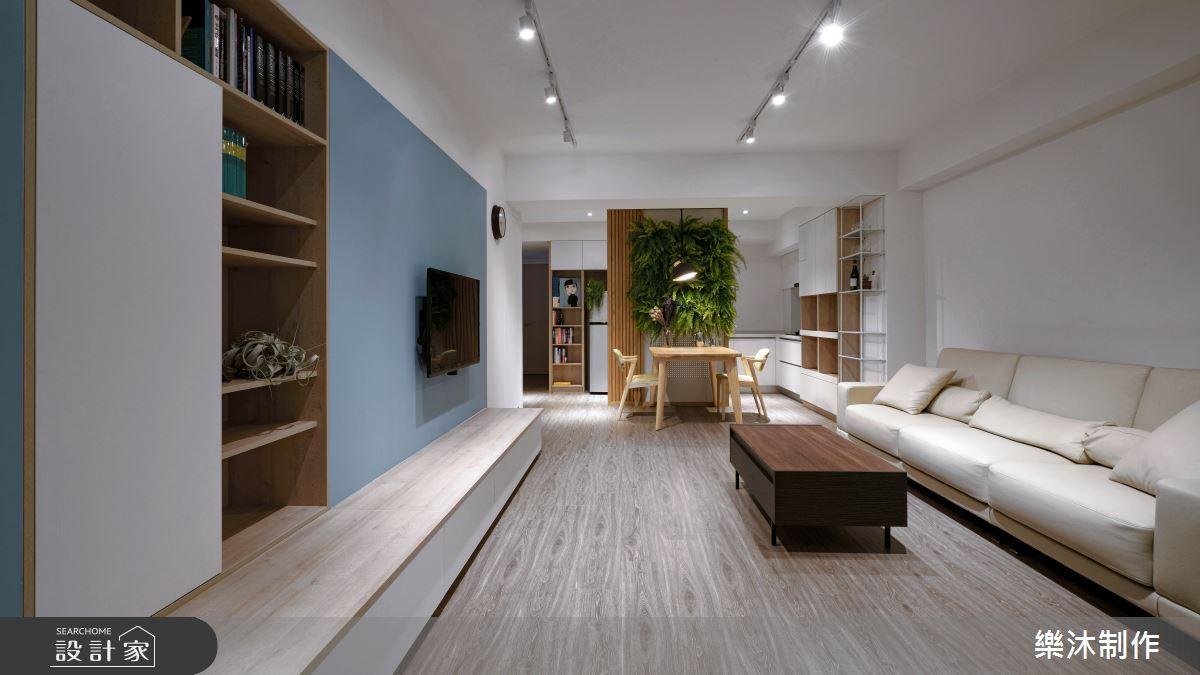 38坪老屋(16~30年)_北歐風案例圖片_樂沐制作空間設計_樂沐_16之1