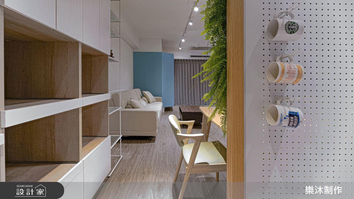 38坪老屋(16~30年)_北歐風案例圖片_樂沐制作空間設計_樂沐_16之4