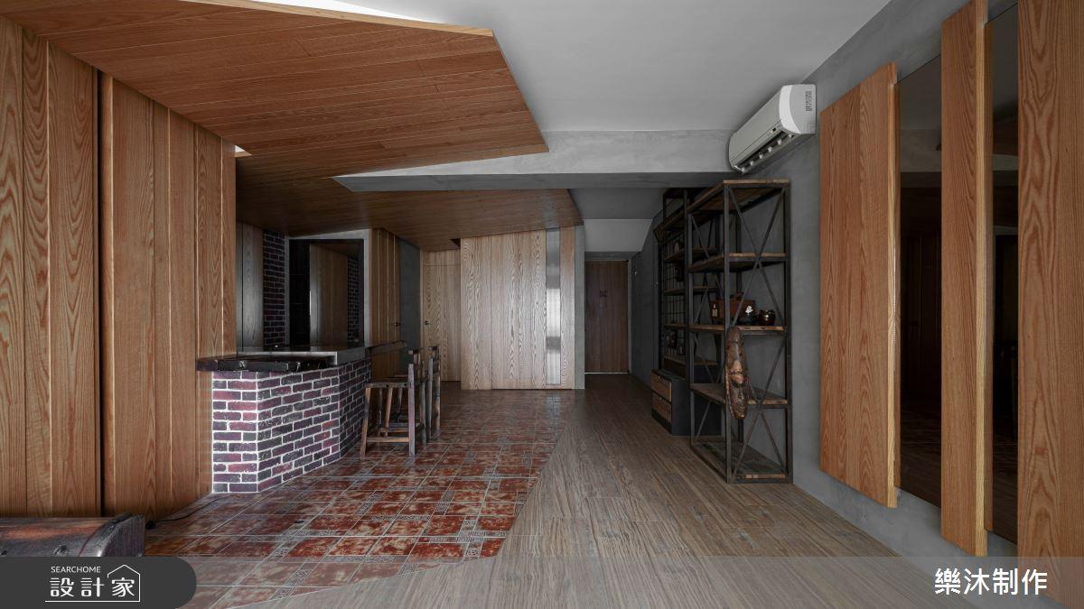 35坪老屋(16~30年)_混搭風案例圖片_樂沐制作空間設計_樂沐_17之2