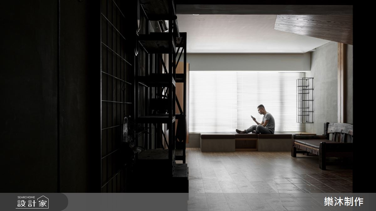 35坪老屋(16~30年)_混搭風案例圖片_樂沐制作空間設計_樂沐_17之7