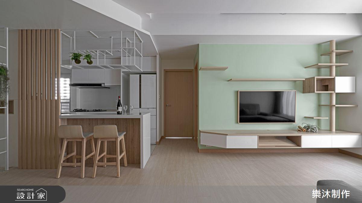 35坪老屋(16~30年)_北歐風案例圖片_樂沐制作空間設計_樂沐_18之3