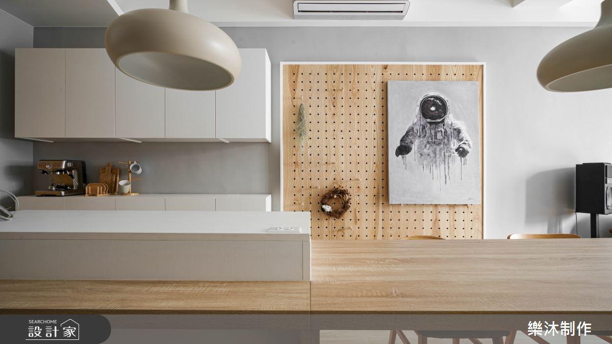 30坪老屋(16~30年)_北歐風案例圖片_樂沐制作空間設計_樂沐_19之5