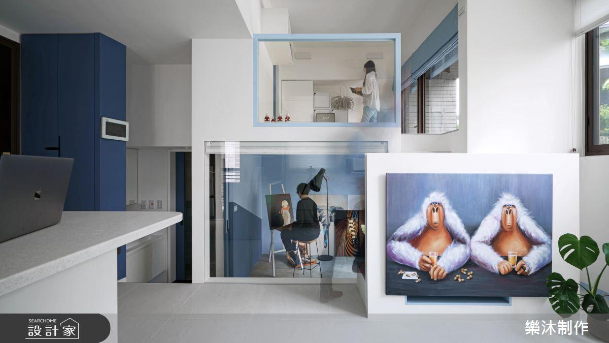 15坪新成屋(5年以下)_北歐風案例圖片_樂沐制作空間設計_樂沐_21之1